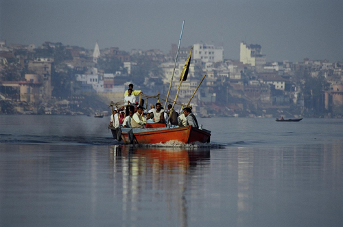on_the_river_Ganges - EcoVision